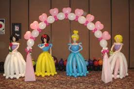 Cinderella Centerpieces Party Fiesta Balloon Decor Celebrates The New