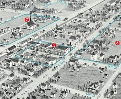 Plano Tx Map Plano 1891 Then And Now Plano Magazine