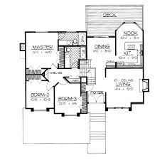 bi level home plans traditional style house plans plan 1 212
