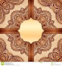Indian Style - ornate vintage vector napkin background stock photos image 31672803