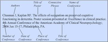 sample of significance of study in research paper papers and poster sessions presented at meetings citing medicine