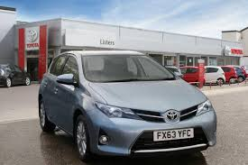 used toyota auris 2013 for sale motors co uk