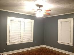bedroom with serious grey sherwin williams hgtv satin and white