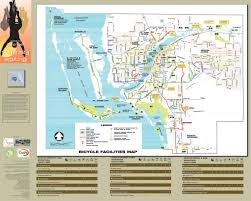 Map Of Lee County Florida by Lee County Florida Bike Map Maplets