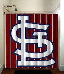 Curtains St Louis Gorgeous Curtains St Louis Ideas With Baseball Mlb Fatboy Studio
