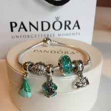 pandora make bracelet images Pandora jewelry disney ariel set of 5 sea teal charms new poshmark jpeg