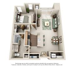 1 Bedroom Design Stone Creek Gardens West Side Madison Apartments Wi