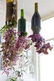 Wine Bottle Planters by 180 Best Idéias E Dicas De Jardinagem Images On Pinterest
