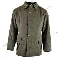 details zu wwii original vintage swedish army wool uniform jacket