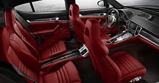 porsche panamera turbo red porsche panamera 2016 interior auto conception pinterest