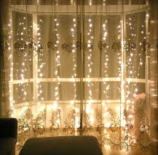 amazon com lebefe 9 84ft x 9 84ft 300 led icicle curtain lights