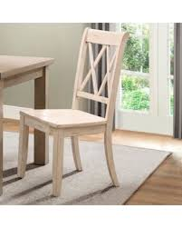 Solid Wood Dining Chairs Amazing Deal On Alcott Hill Diane Solid Wood Dining Chair Set Of 2