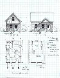 best cabin floor plans garden cottage one level with loft the best cabin plans detailed