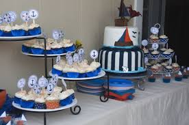 anchor theme baby shower baby shower cake table decorating ideas my web value