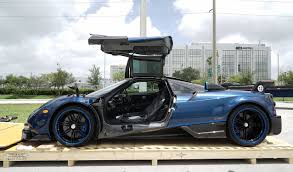 koenigsegg miami pagani huayra bc delivered in miami florida