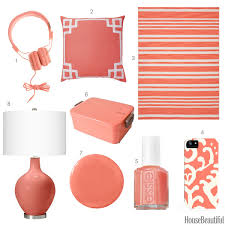 color of the week soft coral pink coral pink house beautiful