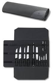 couteaux victorinox cuisine victorinox trousse à enrouler pour couteaux de cuisine vide