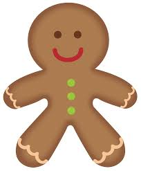 gingerbread man christmas cookies on clip art christmas