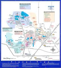Disney Florida Map by Theme Park Brochures Walt Disney World Resort Theme Park Brochures
