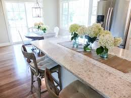 Kitchen Island Centerpiece How To Preserve Hydrangeas Guest Post Styled With Lace