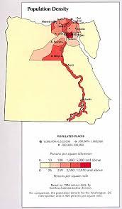 Population Density Map Egypt Population Density Map Egypt U2022 Mappery