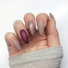 25 cool matte nail designs to copy in 2017 glitter nail designs