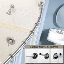 moen curved shower rod review