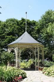 Summer House In Garden - summerhouse in shakespeare garden in stratford ontario old