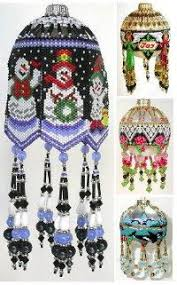 free patterns beaded ornaments check them out headed