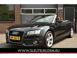 used audi a5 s line for sale used audi a5 cabriolet 3 2 fsi quattro s line aut leder navi for