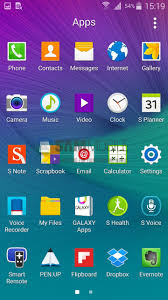 android lolipop here s a look at android lollipop running on the galaxy note 4
