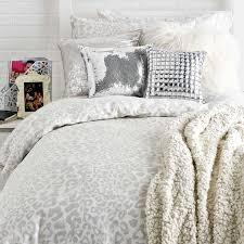 snow leopard duvet cover and sham set quilt bedding snow