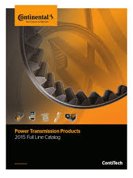 ptp catalog contitech feb 2015 belt mechanical transmission