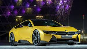 Bmw I8 Yellow - bmw i8 colors abu dhabi in lava paint
