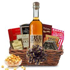bourbon gift basket buy high west american prairie bourbon gift baskets online