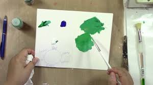 colour mixing demonstration green blue light youtube
