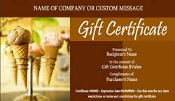 pdf icecream gift certificate template 28 pages gift