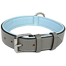 soft touch collars padded leather collar large