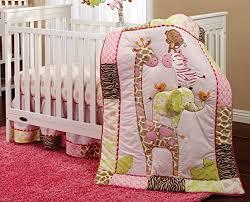 Giraffe Bedding Set Pretty Pink Giraffe Baby Bedding Sets