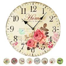 online get cheap rose wall clocks aliexpress com alibaba group