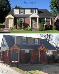 Before And After Home Exteriors by Before And After Nashville Home Stratton Exteriors