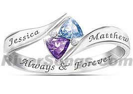 customized rings with names cheap promise rings 100 couples promise rings 100