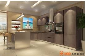 retro style high end knock down kitchen cabinets with stainless