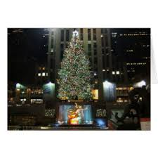 New York Christmas Tree Decorations Uk by New York Christmas Cards U0026 Invitations Zazzle Co Uk