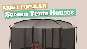 Gazebo Screen House Kit by Screen Tents Houses Most Popular Youtube