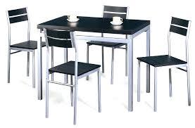 chaise cuisine noir chaise de cuisine table et chaise cuisine best table de