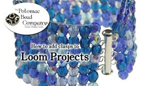 beading bracelet clasps images How to add clasps to loom projects jpg