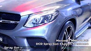 mercedes amg gle43 selenite grey definitive sydney spray gun 4