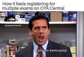 Cpa Exam Meme - cpa exam memes instagram photos and videos