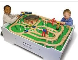 melissa doug activity table melissa doug train table bundle 174 99 shipped savings lifestyle